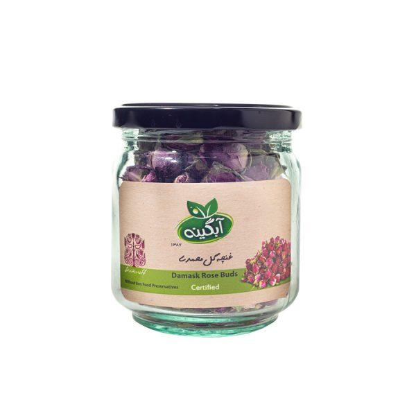 غنچه-گل-محمدی-آبگینه